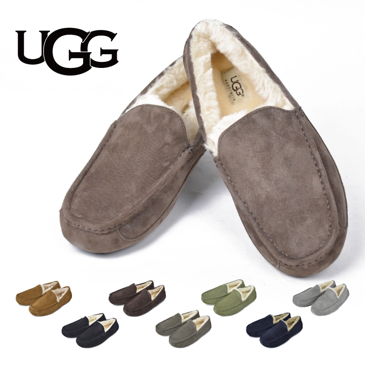 c64f3c60c A アグメンズスリッポンアスコット UGG ASCOT SUEDE MENS Ascot suede cloth mouton shoes model  number ...