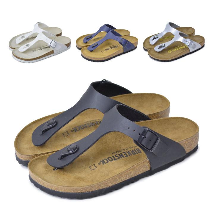 4efa27e8b54 Birkenstock Giza white vircoflow BIRKENSTOCK GIZEH Birko Flor silver black  birken Sandals comfort Sandals 043691