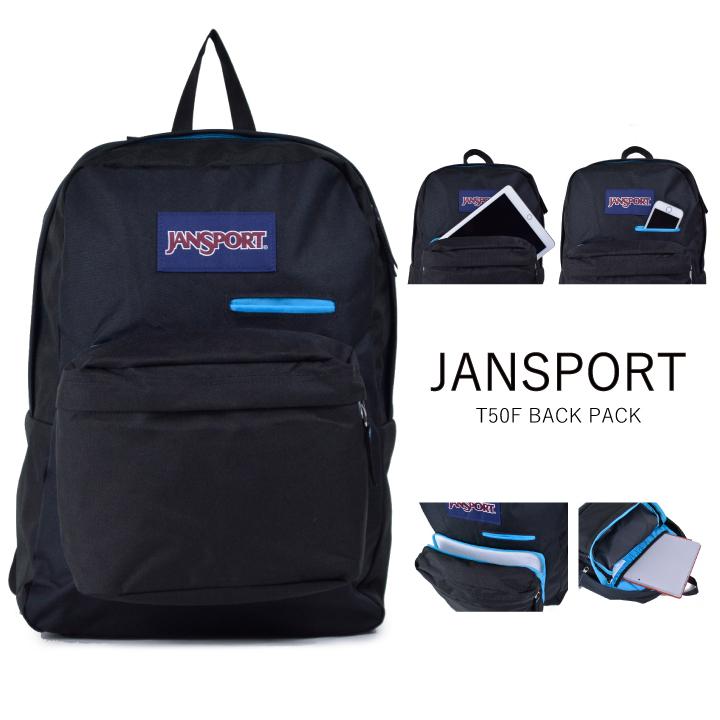 JANSPORT Jean sports rucksack DIGIBREAK T50F デジブレイクブラックリュックサックバックパック  attending school student