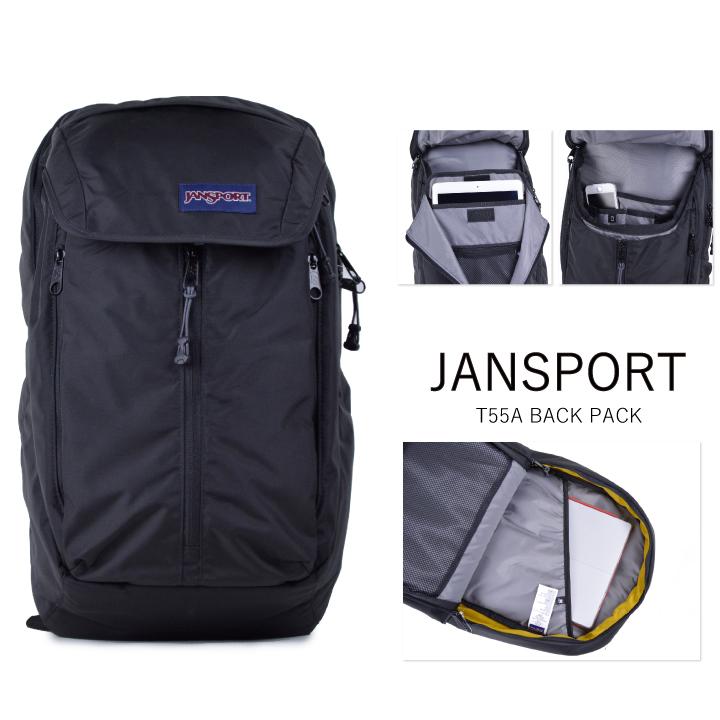 JANSPORT JanSport backpack SOURCE T55A source black rucksack backpack