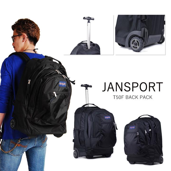 JANSPORT JanSport backpack DRIVER 8 ROLLING BACK PACK TN89 driver 8 black  rucksack backpack