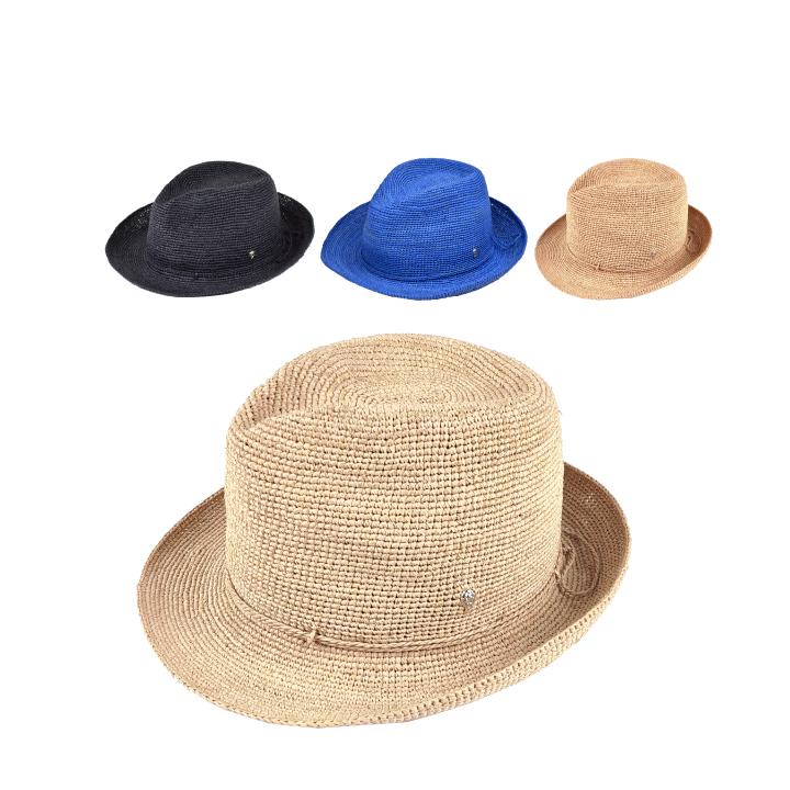 ヘレンカミンスキー 帽子 HELEN KAMINSKI Fai ヌガー チャコール