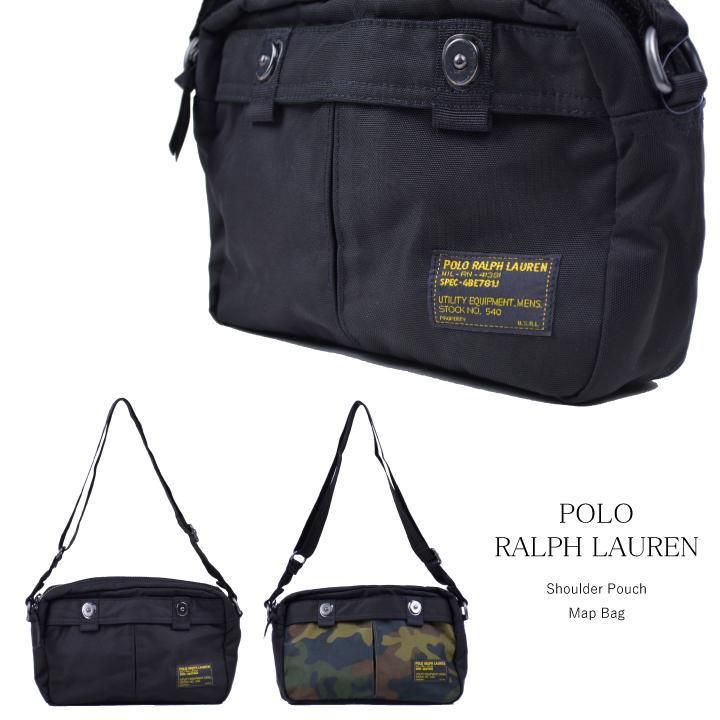 7a6ca970ad5 DEROQUE  Polo Ralph Lauren POLO RALPH LAUREN bag MAP BACK military ...