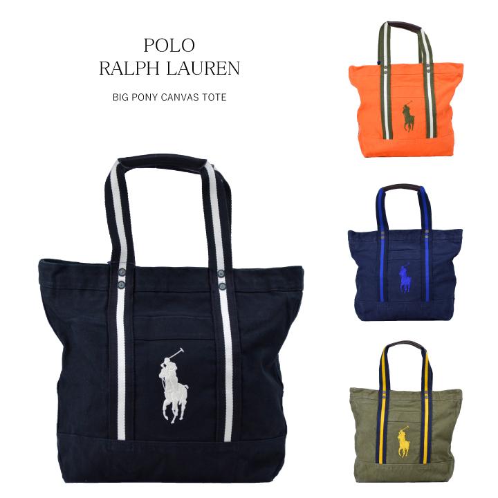 Ralph Lauren RALPH LAUREN big ponycanvasjiptort BIG PONY CANVAS TOTE mens Womens  Bag Ralph 53fd29721b