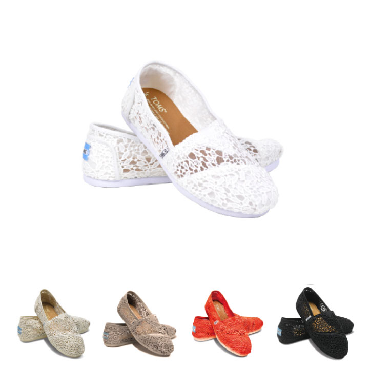 c2ef9358aa2 TOMS shoes Thoms shoes Crochet Womens Classics Cloche woman classical music  Lady s