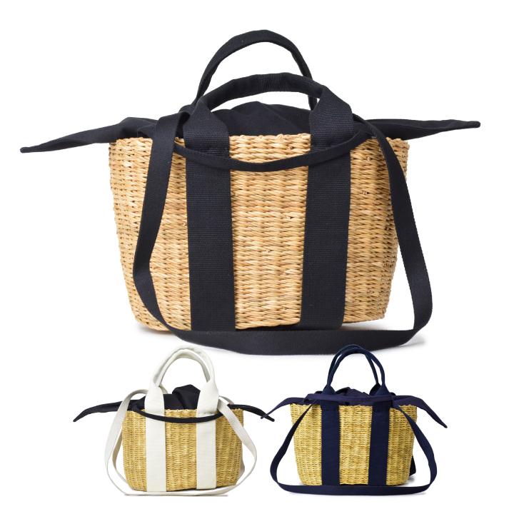 MUUN (ムーニュ)MINI CABA P HDL かごバッグ布袋付き レディース バッグ トートバッグ