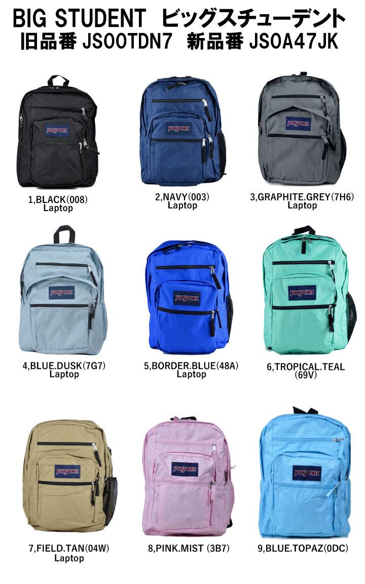 90bedf4e952d JANSPORT JanSport backpack BIG STUDENT big student TDN7 rucksack backpack  school