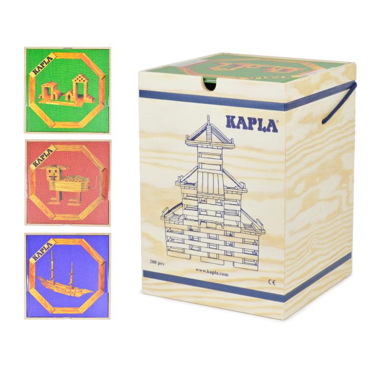 カプラ 280 積み木 木製 アートブック KAPLA ブロック280 KLAPLA280