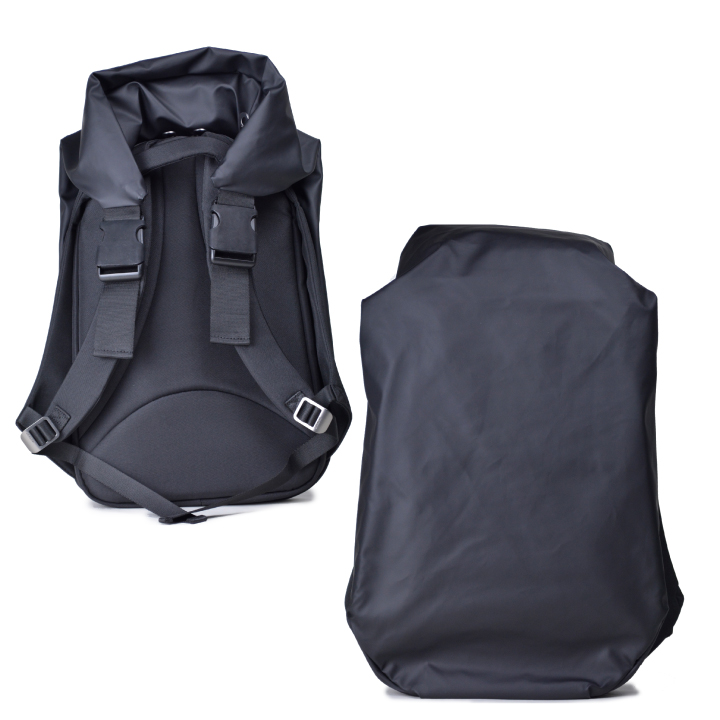 コートシエル ナイル リュック バックパック COTE&CIEL NILE POLYESTER Obsidian black 28090
