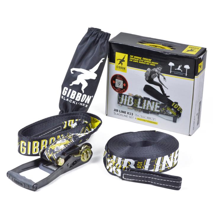 【★ポイント5倍! 5日23:59迄】ギボン ジブライン GIBBON JIB LINE X13 SLACKLINE SET USA Edition スラックライン 品番13850