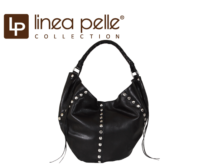 Linea Pelle Lineapelle Alex Stud Bag Italian Leather Stakes Foreign Celebrities Are Many Patronage And Shipping Magazine Posted On Backpack