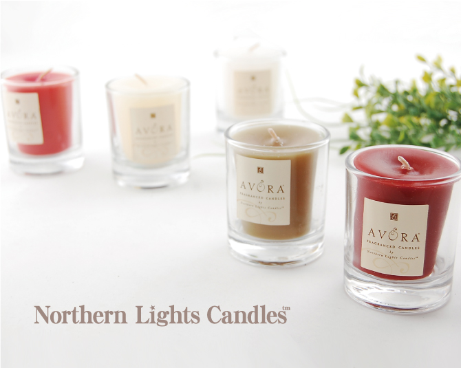 NORTHERN LIGHT CANDLES Candle GLASS VOTIVE CANDLE