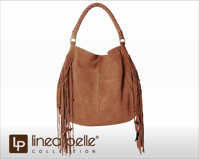 Linea Pelle Lineapelle Bo Hobo Bag Fringe Tote Bags Las Leather Real Studded Overseas Celebrities Many Loved