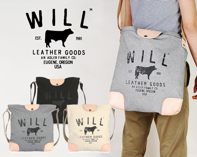 will leather goods toy will leather shoulder bag tote bag will leather goods  tote bag trico1 bag Strip toto bag CROSSBODY CARRY ALL 18012662e