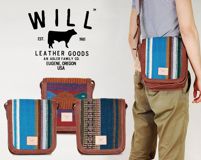Will Leather Goods Shoulder Bag Tote Thoth Canvas Oaxacan Crossbody