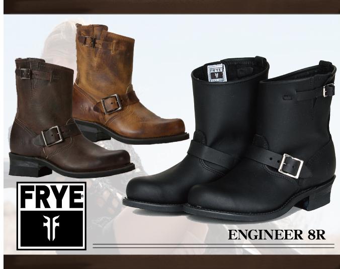 DEROQUE | Rakuten Global Market: FRYE boots fly ENGINEER 8R Engineer Boots Leather Womens shorts new