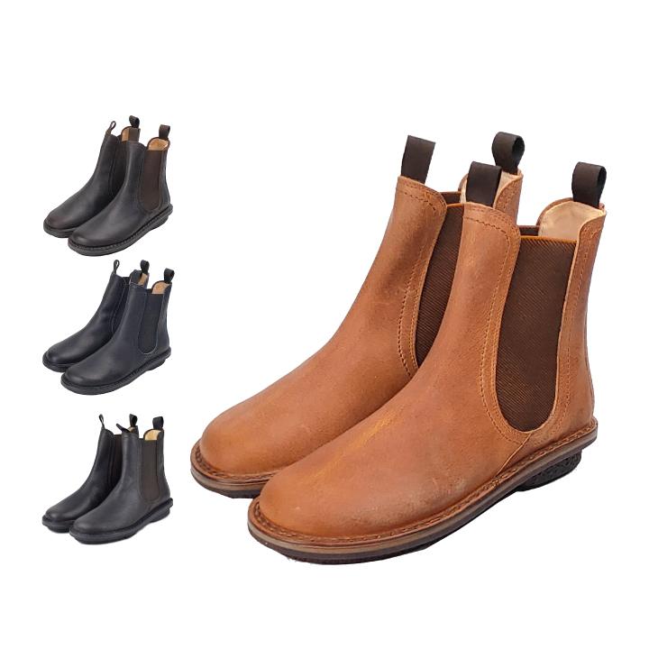 TRIPPEN chelsea チェルシー ショートブーツ サイドゴアブーツ レザー トリッペン 靴 レディース