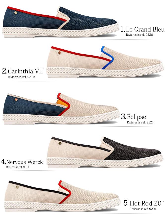 the best attitude c3b6c d9877 Riviera riviera rivieras leisure shoes slip-ons Riviera espadrille shoes  mesh Riviera sneakers