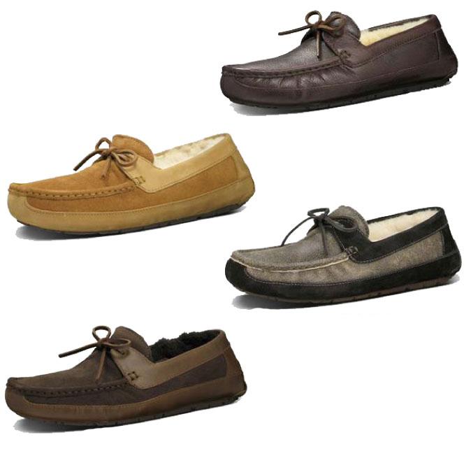 249f5ad6278 UGG アグ BYRON MENS Byron men slip-ons moccasins shoes