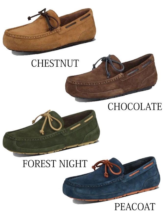 901380f25f2 A UGG アグ CHESTER SUEDE MENS Chester suede cloth men slip-ons mouton shoes  model number: 1005350