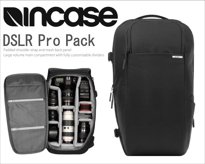 Incase Camera Bag Backpack Dslr Pro Pack Men S Cl58068