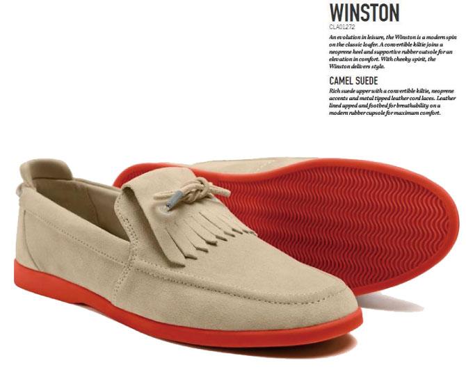 CLAE (伯克利) 温斯顿经典无赖绒面皮革运动鞋