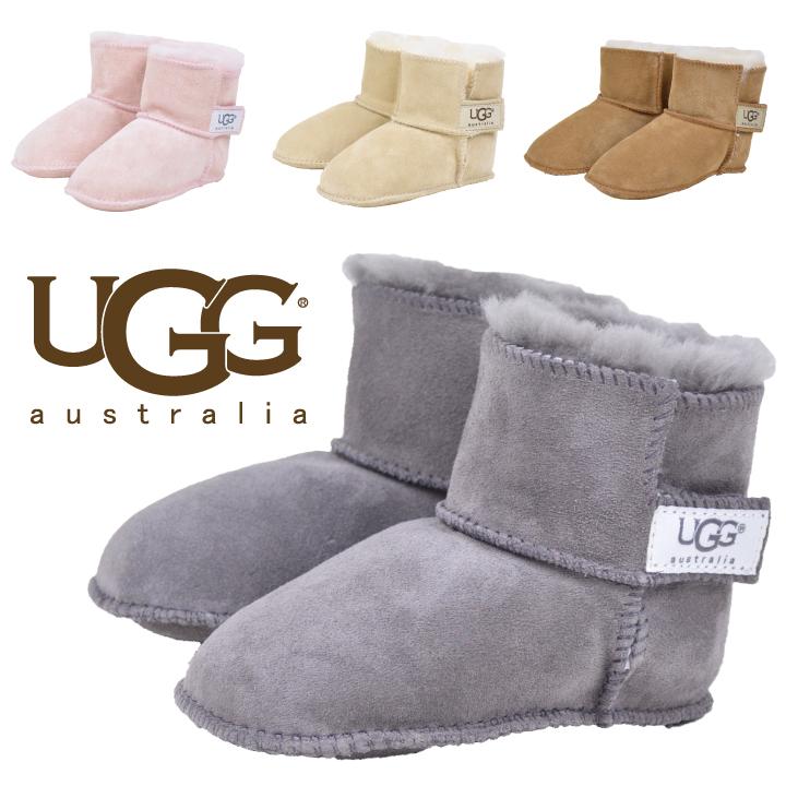 c478a0687e8 UGG Ugg Australia kids baby Sheepskin boots UGG Australia Erin overseas  genuine, all 4-color baby agubuzu gifts giveaway