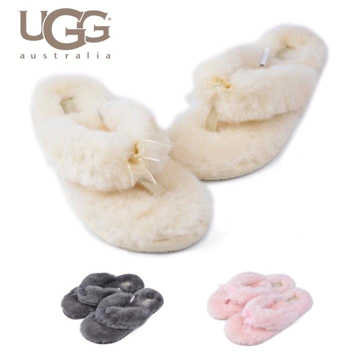 UGG UGG Sandals-fluff flip flop 2 FLUFF FLIP FLOP2 far Sundal