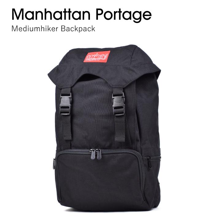 【100円OFFクーポン!+5%還元!】Manhattan Portage マンハッタンポーテージmedium hiker backpack 3 2123 【西日本】