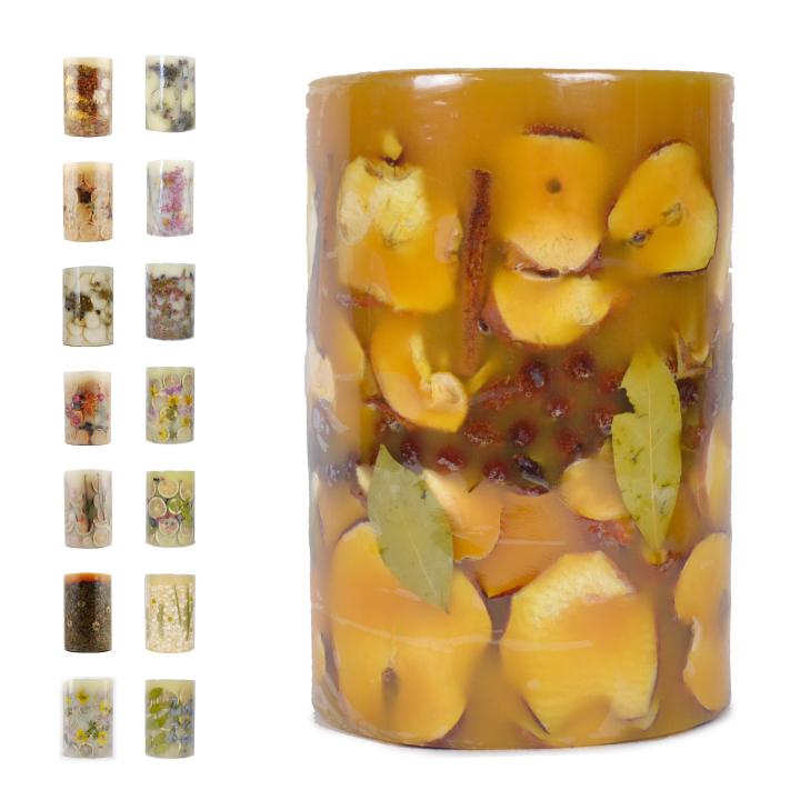 【コンビニ受取対応商品】 ROSY RINGS Big Botanical Candle 300hrs ロージーリングス キャンドル 【西日本】
