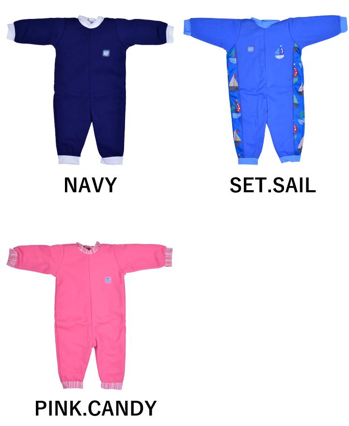 斑点关于婴儿游泳衣简易潜水服泳装SPLASH ABOUT WARM IN ONE