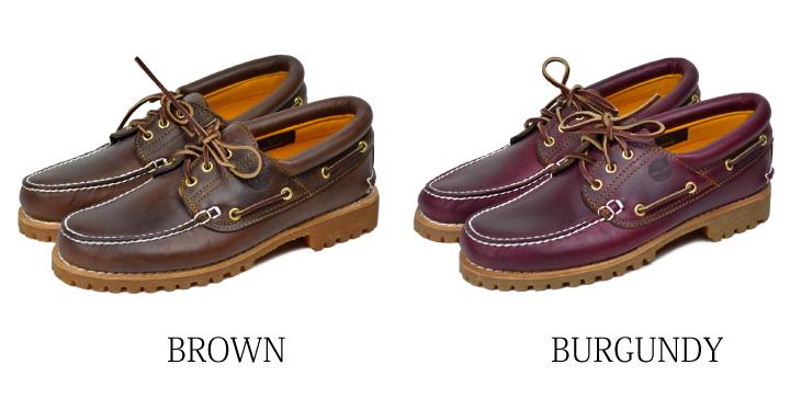 Timberland deck shoes men boots TIMBERLAND 3 EYE CLASSIC LUG TB030003