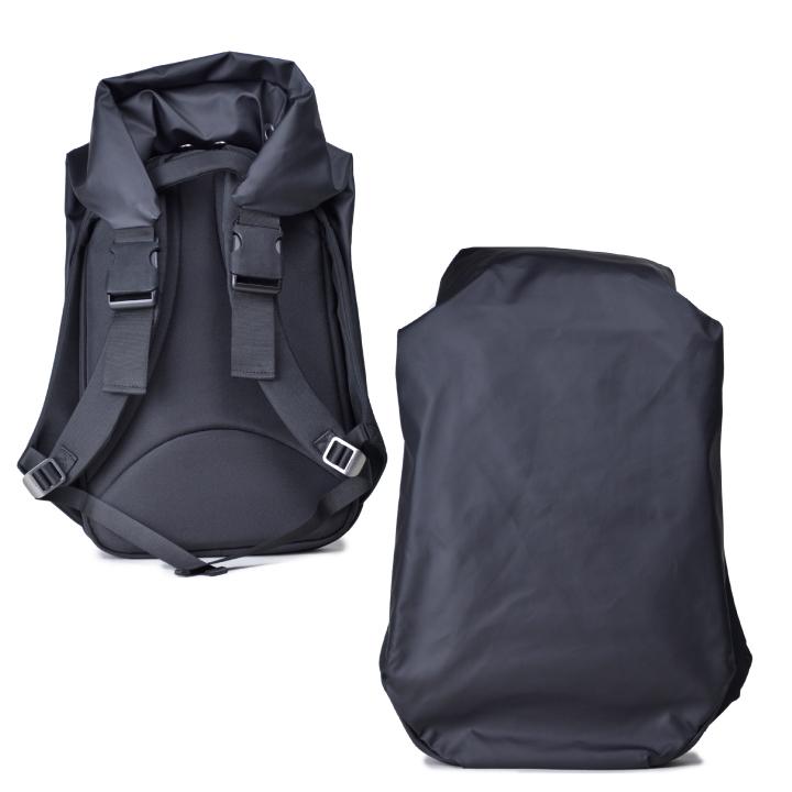 コートシエル ナイル リュック バックパック COTE&CIEL NILE POLYESTER Obsidian black 28090 【西日本】