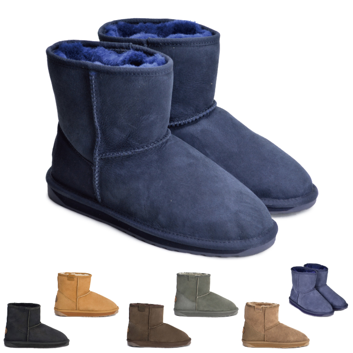 00ccd5195d emu emu stinger mini-STINGER MINI boots Lady's genuine leather mouton boots  insole sheepskin boots ...