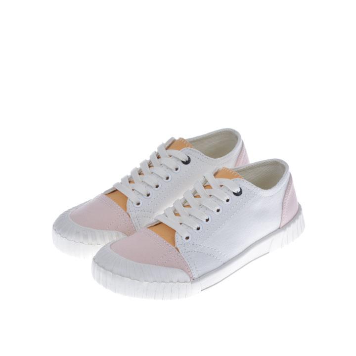 【100円OFFクーポン!+5%還元!】Good News グットニュース スニーカー 靴 BABE LOW WHITE PINK GNBABE006
