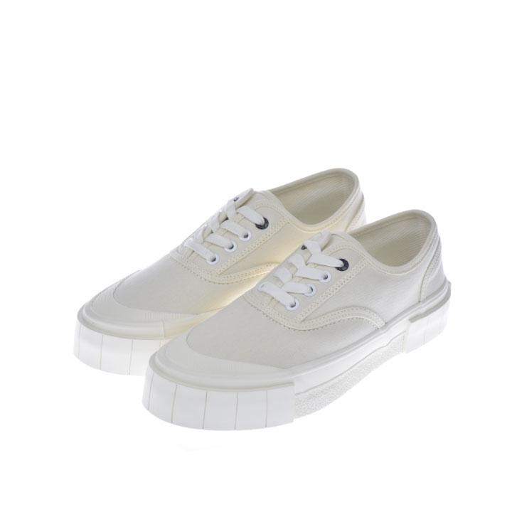 【100円OFFクーポン!+5%還元!】Good News グットニュース スニーカー 靴 BAGGER 2 LOW WHITE