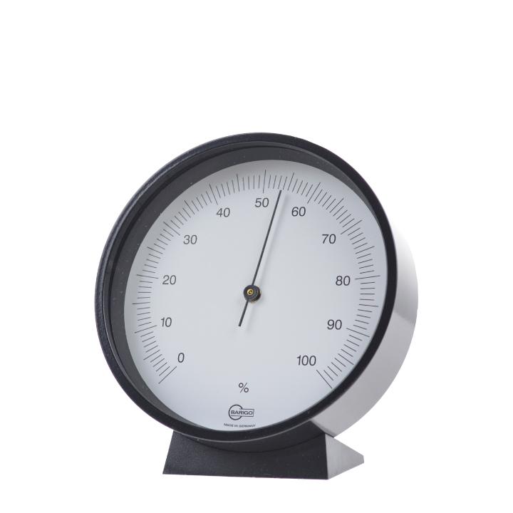 【★200円OFFクーポン!+5%還元!★】BARIGO バリゴ Hygrometer 715SC 湿度計 ブラック 壁掛け 起きスタンド【西日本】