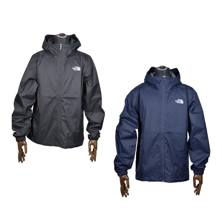 THE NORTH FACE ノースフェイス /Men's QUEST Jacket T0A8AZ ナイロンジャケット メンズ クエストジャケット フードジャケット ブラック ネイビー【西日本】
