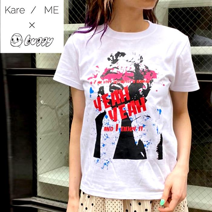Kare ME×buggy カーミーバギー 新品 送料無料 最安値挑戦 コラボカットソー マリリンペイント