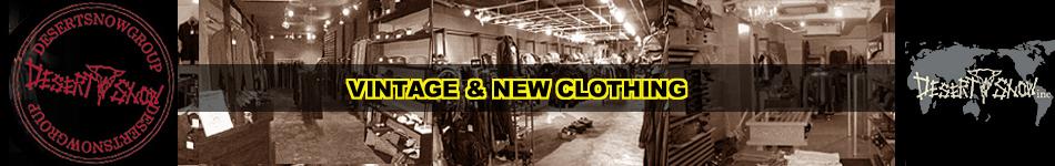DESERT SNOW 郡山:市場を無視したリーズナブルな価格設定の古着屋です★