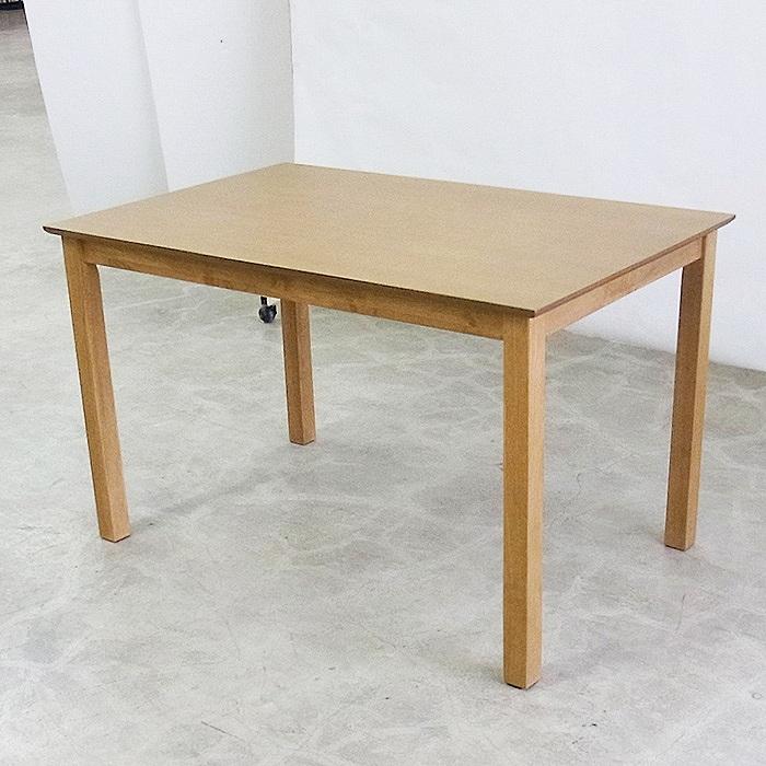 ダイニングテーブル テーブル 食卓 食卓テーブル アッシュ 突板 北欧 115cm DYH-S【送料無料】