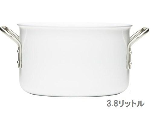 【eva-trio】 ホワイトライン 両手鍋 20cm浅