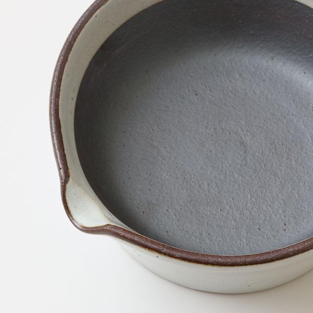 すりバチ 溝のないすり鉢 日本製