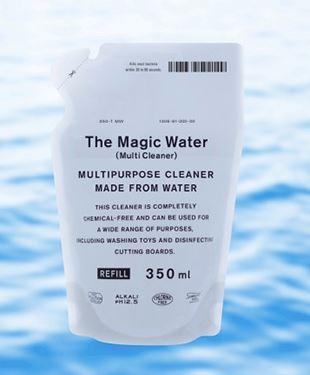 送料無料 クーポン対象 ウィルス対策 除菌ができる水のマルチクリーナースプレー 詰替用 350ml The おすすめ特集 Multi Cleaner 送料無料でお届けします 界面活性剤 アルカリ電解水 アルコール不使用 Water Magic