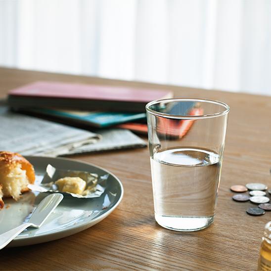 玻璃清除短 240 毫升玻璃半尺寸热 120 度明确在日本杯