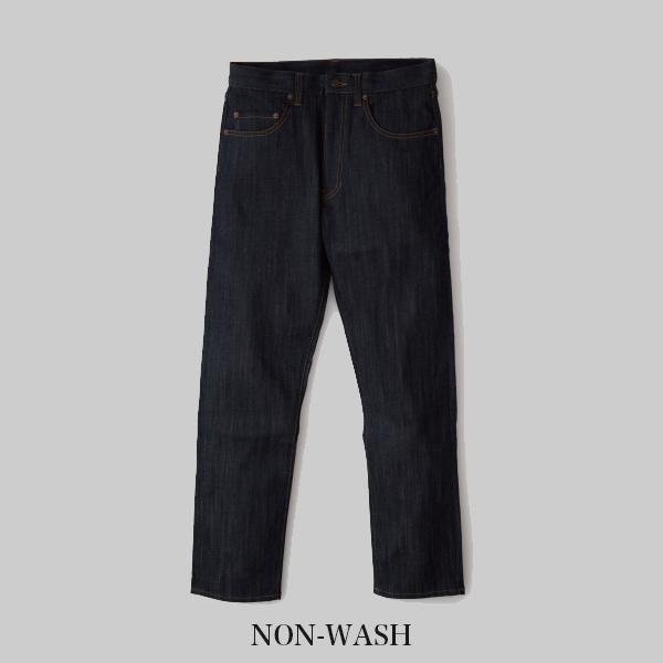 ヴィンテージ・リーバイスのパターンを使った日本製デニム THE Jeans Stretch for Regular NON-WASH