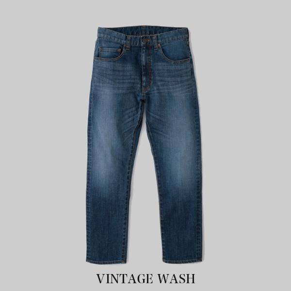 ヴィンテージ・リーバイスのパターンを使った日本製デニム THE Jeans Stretch for Regular VINTAGE WASH