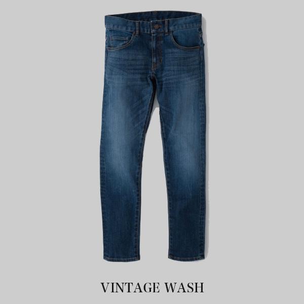 タイトなのに動きやすい 日本製デニム THE Jeans Stretch for Slim VINTAGE WASH