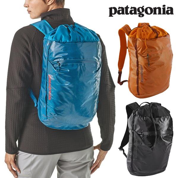 Patagonia パタゴニア 49040 ライトウェイト・ブラックホール・シンチ・パック 20L ブラック Lightweight Black Hole Cinch Pack 20L BLK