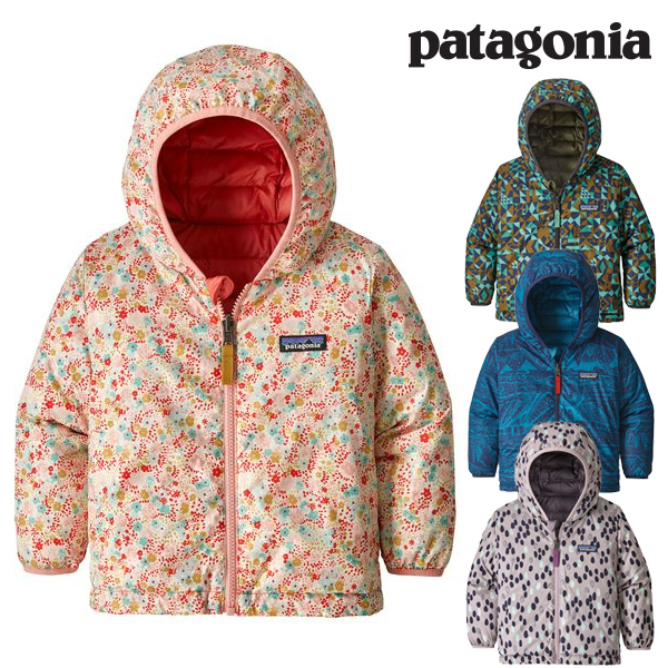 Patagonia パタゴニア ベビー・リバーシブル・ダウン・セーター・フーディ ジャケット 2018 FW 秋冬新作 Baby Reversible Down Sweater Hoody 61371